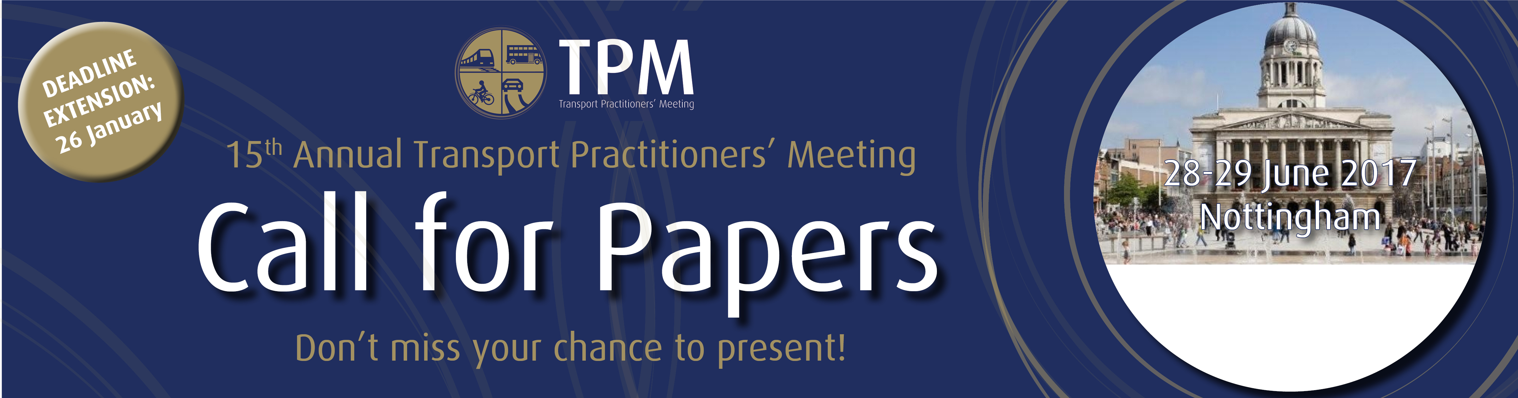 imgCall for Papers TPM